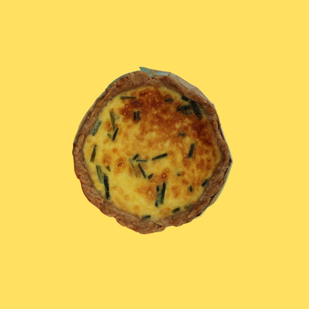 Quiche - Caramelized Onions