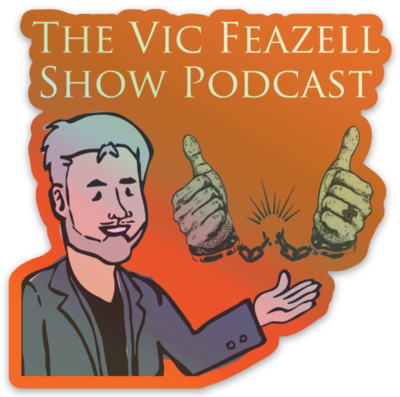 Podcast Holographic Stickers