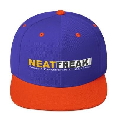*YELLOW LOGO*- 2 TONE CLASSIC FIT FLAT BRIM HAT [5 Color Options]