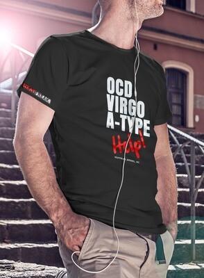 OCD VIRGO A-TYPE HELP! -LIGHTWEIGHT- MEN'S TEE [6 Colors]