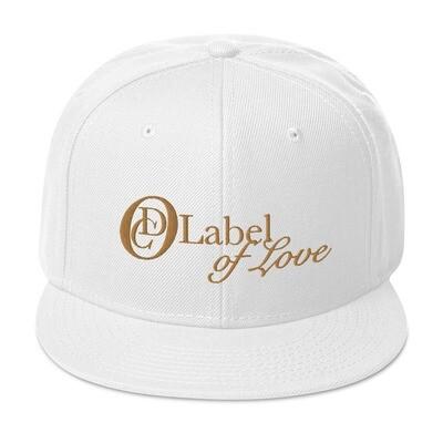 OCD Logo, Label Of Love- CLASSIC FIT FLAT BRIM HAT [4 Colors]