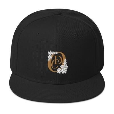 OCD Flower Logo- CLASSIC FIT FLAT BRIM HAT [3 Colors]