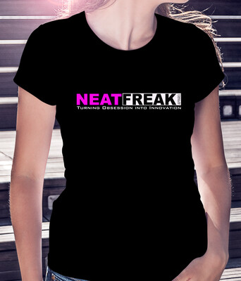 *PINK LOGO* FASHION FIT WOMAN'S TEE [7 Color  Options]