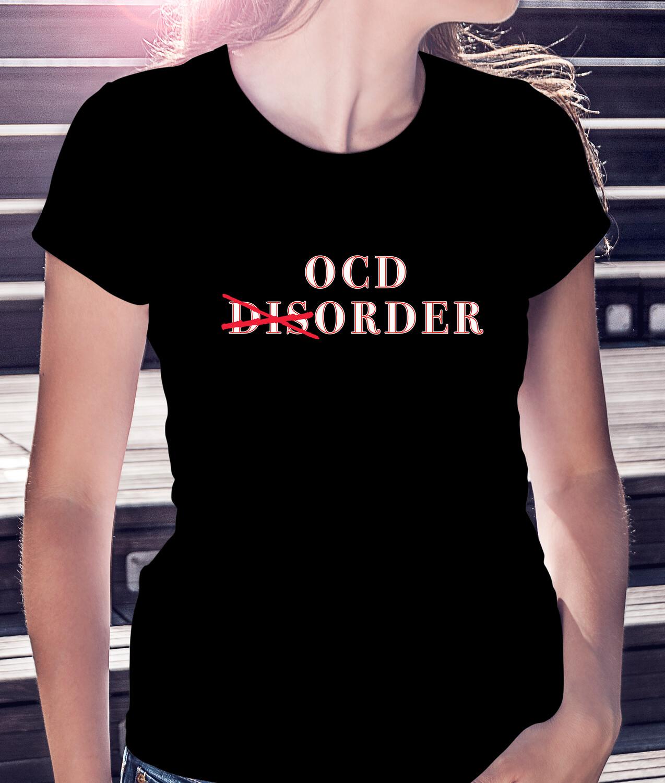OCD (dis)ORDER - CLASSIC WOMAN'S TEE [5 Colors]