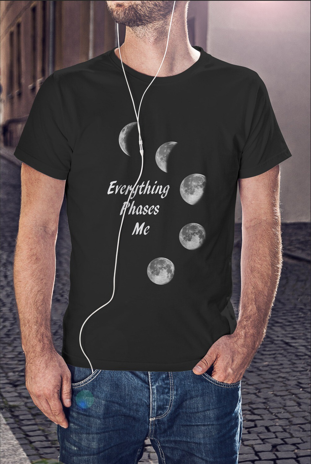 EVERYTHING PHASES ME -LIGHTWEIGHT- MEN'S TEE [6 Colors]