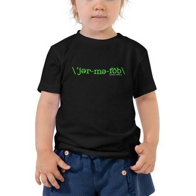 GEMAPHOBE *2T-5T Toddler Tee