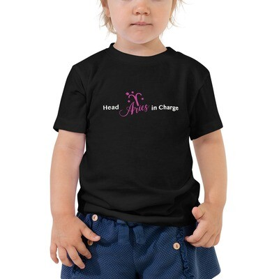 HEAD 'ARIES' IN CHARGE- Toddler Tee