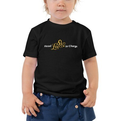 HEAD 'LEO' IN CHARGE- Toddler Tee