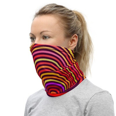 PSYCHEDELIC HEART- All Purpose Face Covering/Neck Warmer