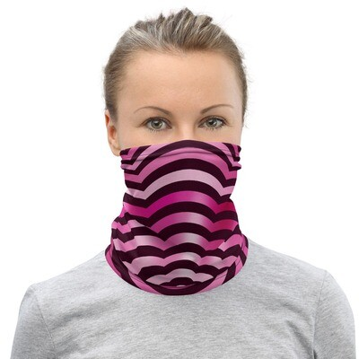 PSYCHEDELIC FLOWER- All Purpose Face Covering/Neck Warmer