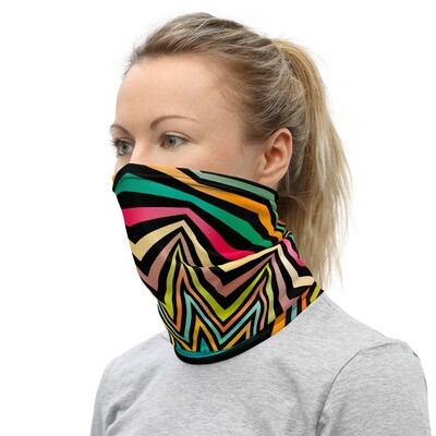 PSYCHEDELIC STARBURST- All Purpose Face Covering/Neck Warmer