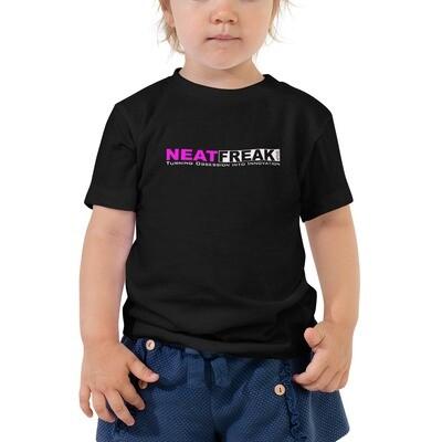 *PINK LOGO* 2T-5T Toddler Tee