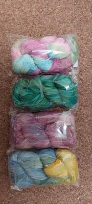 Pure Finn Yarn 4 ply. Pan dyed.
