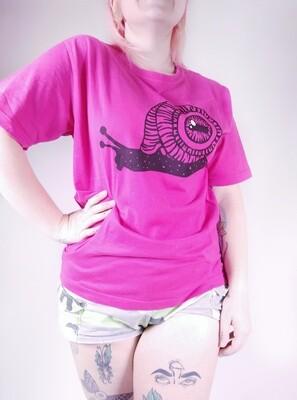 S Pink - Snail T-Shirt