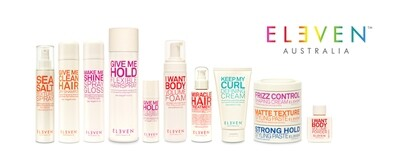 ELEVEN PRODUCTS (MIRACLE,HAIRSPRAY, DRY SHAMPOO, ETC)
