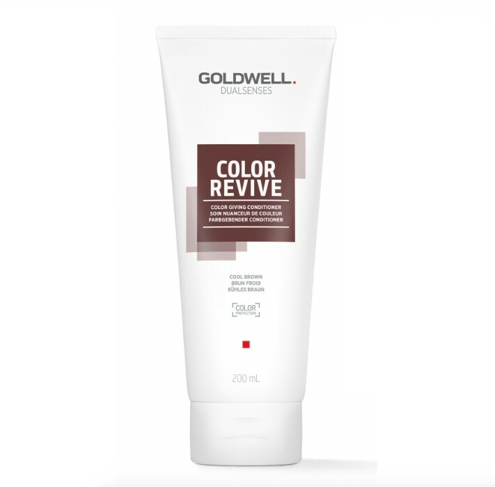 GOLDWELL Brunette ash toning conditioner