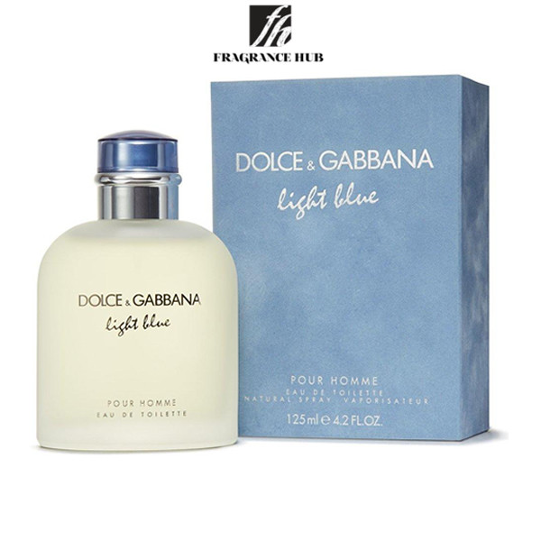 [Original] Dolce & Gabbana Light Blue EDT Men 125ml