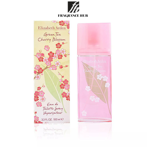 [Original] Elizabeth Arden Green Tea Cherry Blossom EDT Lady 100ml