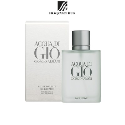 [Original] Giorgio Armani Aqua Di Gio EDT Men (100ml)