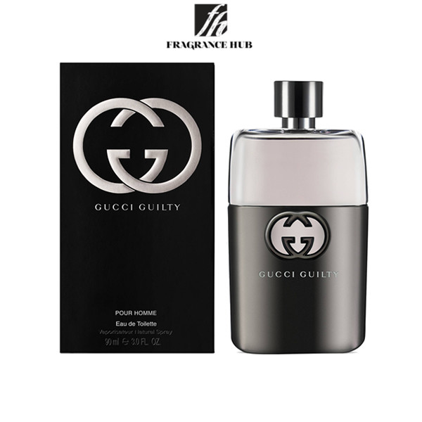 [Original] Gucci Guilty Pour Homme EDT Men 90ml