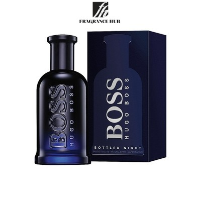 [Original] Hugo Boss Bottled Night EDT Men 100ml