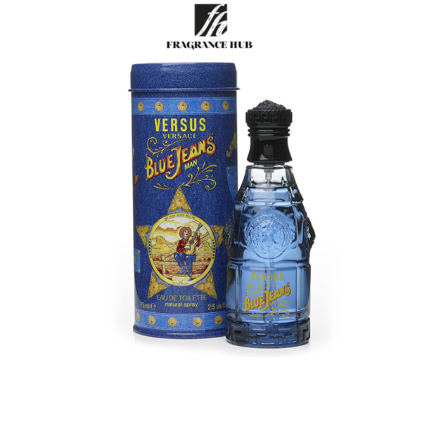 [Original] Versace Blue Jean EDT Men 75ml
