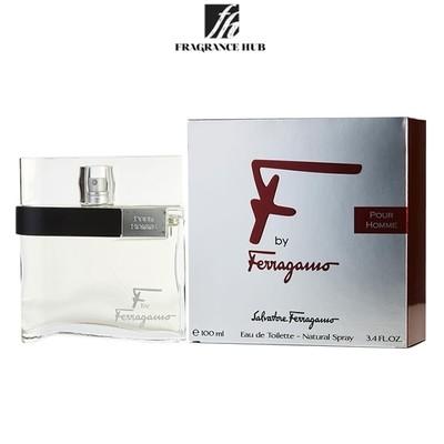 [Original] Salvatore Ferragamo F by Ferragamo Pour Homme EDT Men 100ml