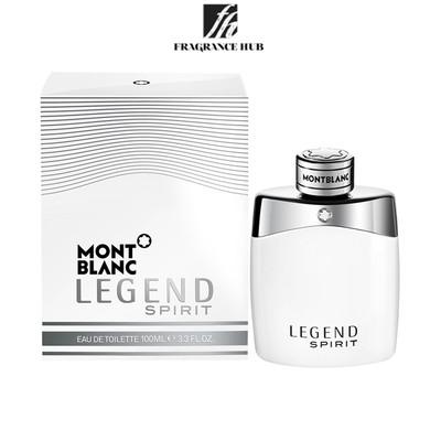[Original] Mont Blanc Legend Spirit White EDT Men 100ml