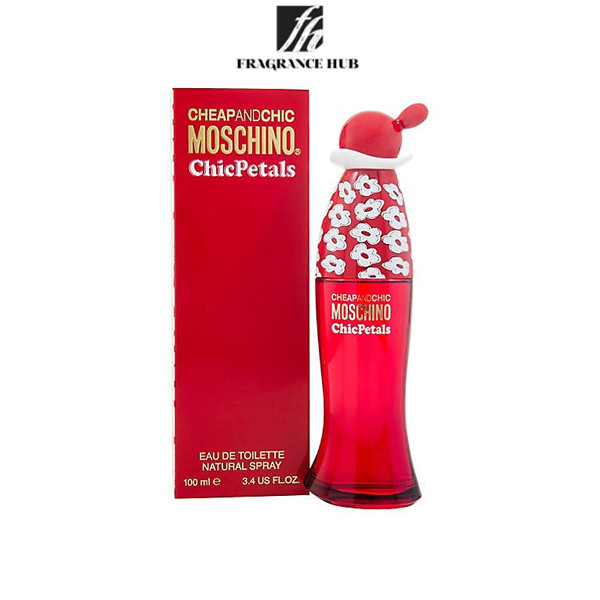 [Original] Moschino Cheap & Chic Petals EDT Women 100ML