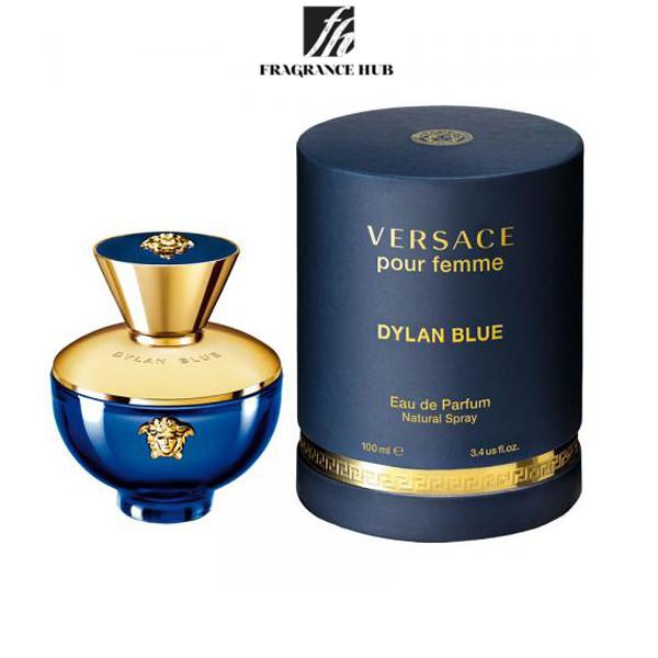 [Original] Versace Pour Femme Dylan Blue EDP lady 100ml