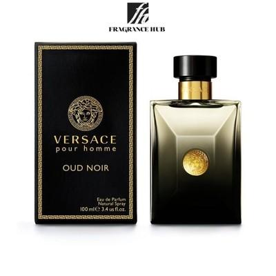 [Original] Versace Pour Homme Oud Noir EDP Men 100ml