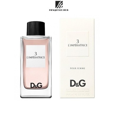 [Original] Dolce & Gabbana 3 L'imperatrice Pour Femme EDT Lady 100ml