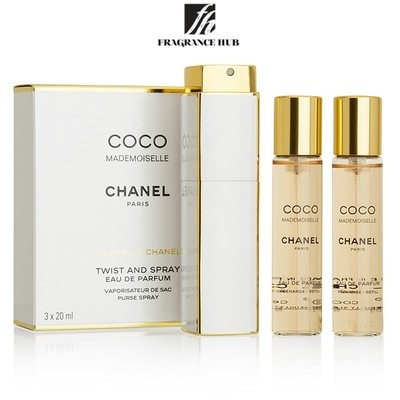 [Original] Chanel COCO Mademoiselle EDP Lady 3 x 20ml