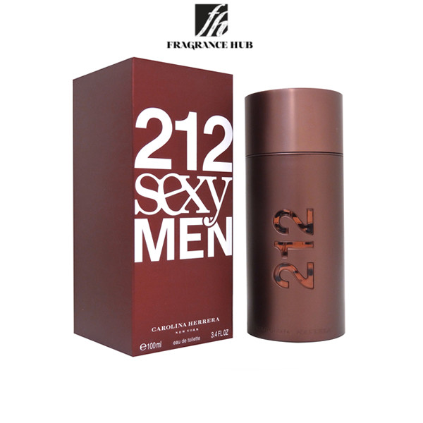 [Original] Carolina Herrera 212 Sexy Men EDT Men 100ml