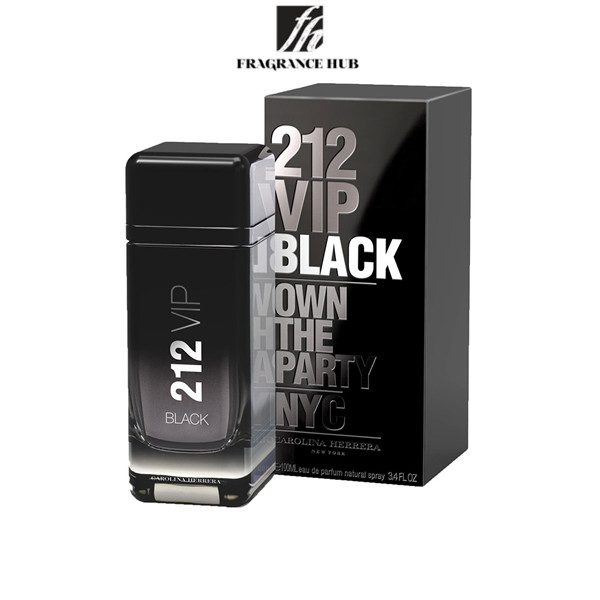 [Original] Carolina Herrera 212 VIP Black EDT Men 100ml