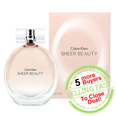 [Group Buy!] Calvin Klein cK Sheer Beauty EDP Lady 100ml