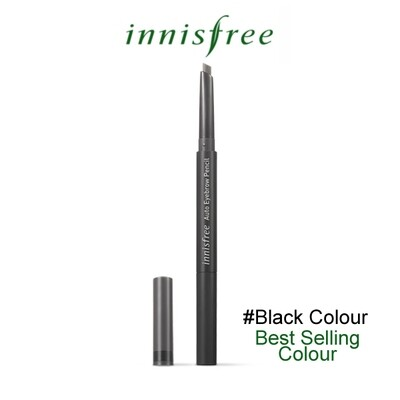 Innisfree - Auto Eyebrow Pencil #Black Colour (Expiry in 2022)