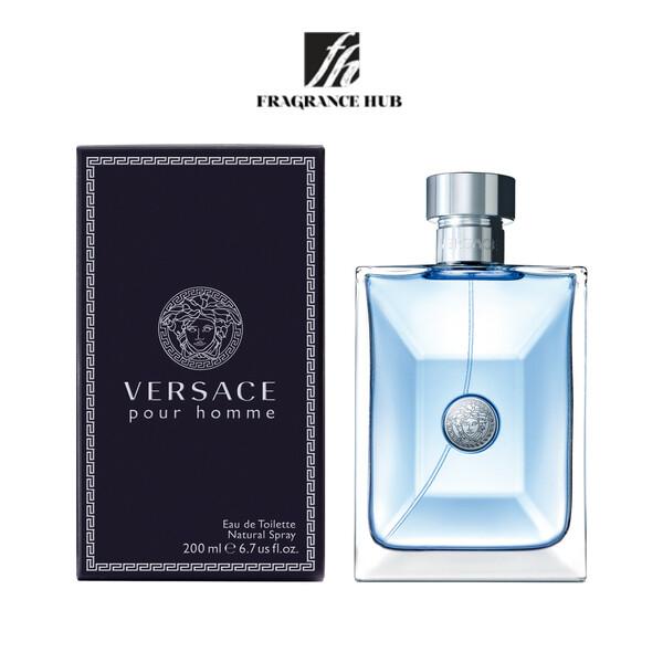 [Original] Versacae Pour Homme EDT Men 200ml
