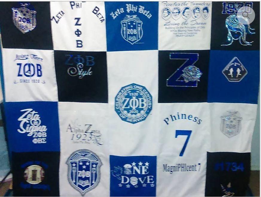 Your Journey Centennial T-Shirt Blanket