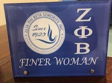 Zeta 8x6' Finer Woman Glass Display