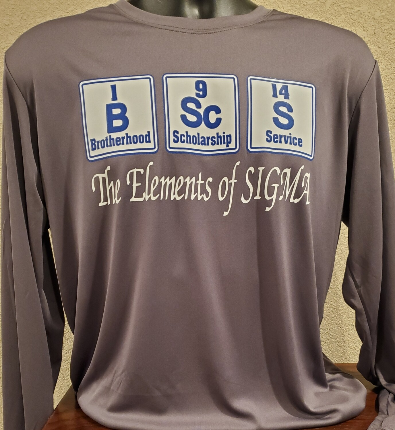 SALE****The Elements of Sigma (Dri-Fit) - Long Sleeve****SALE