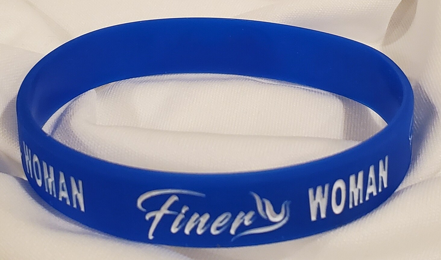 Zeta PHI Beta Silicone Band - Finer