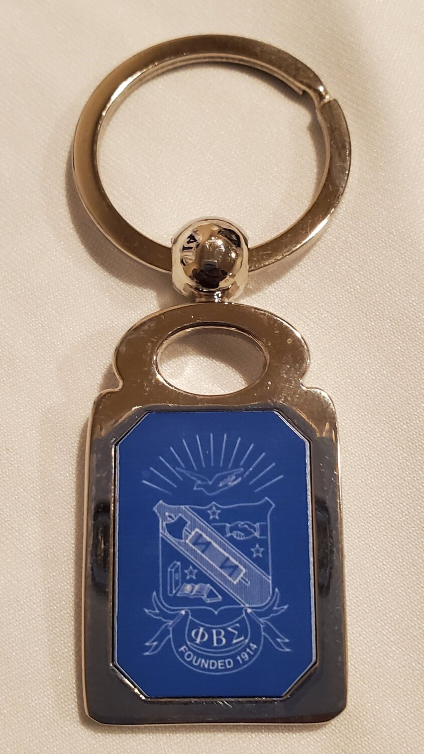 Phi Beta Sigma Key chain