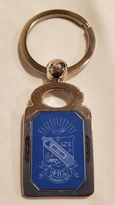 Phi Beta Sigma Key chain