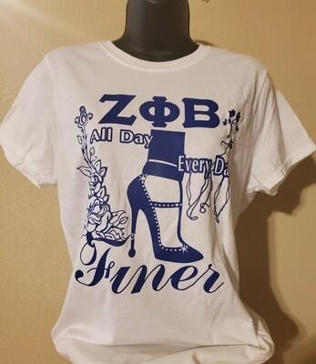 Zeta Finer Heels-White