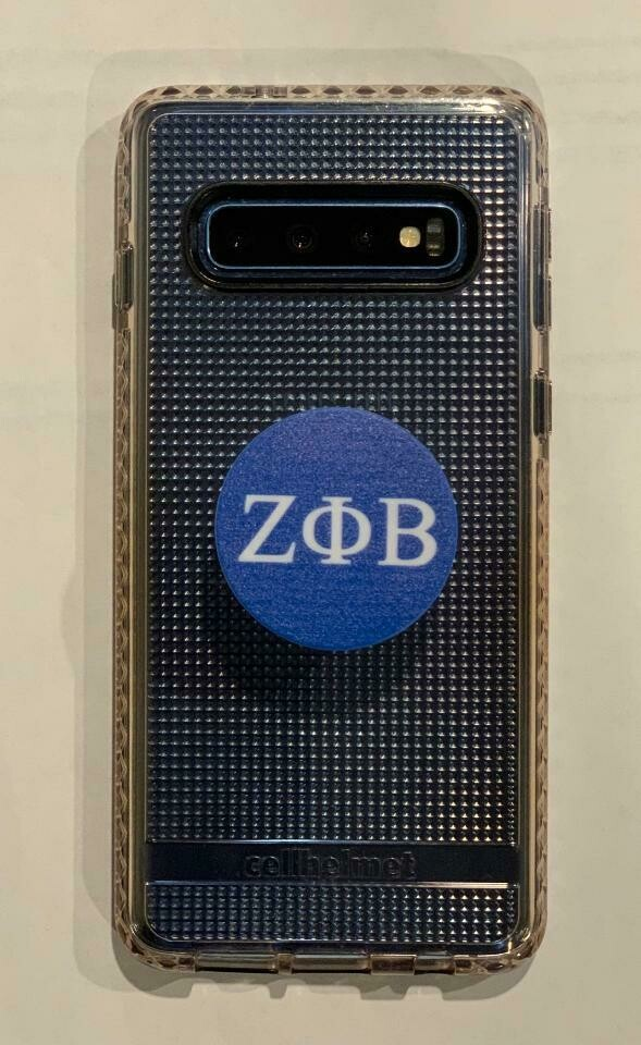 Zeta Phi Beta Phone Popsocket