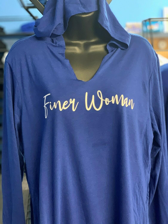 Finer Woman Hoodie