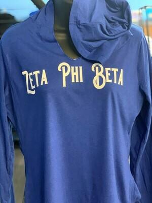 Zeta Phi Beta Hoodie