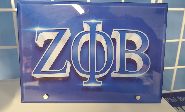 Zeta glass display