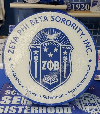 Zeta Round Glass Shield